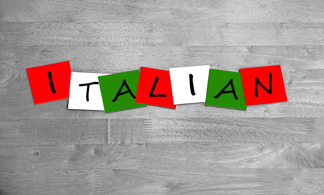 Italian Language - Structure 1