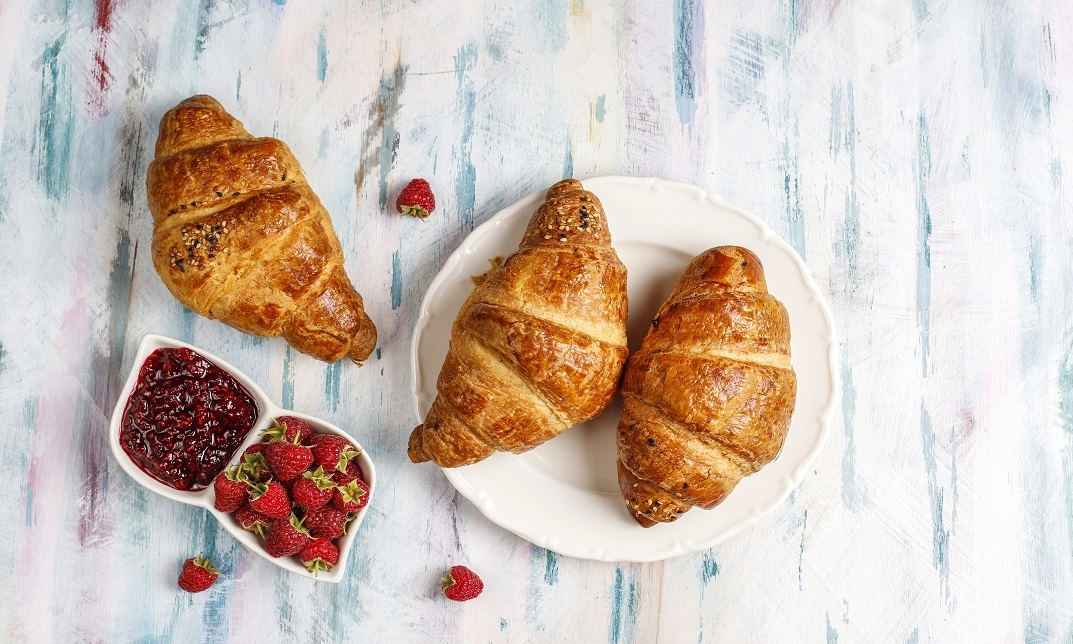 French Croissant - Baking